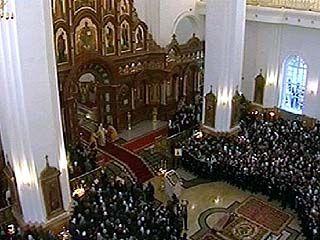 В Благовещенском кафедральном соборе прошла торжественная служба