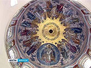 В Благовещенском кафедральном соборе завершили самый сложный этап росписи