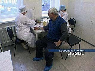 В Бобровском районе проходит диспансеризация населения