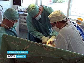 В Бобровской ЦРБ осваивают новейшие для всей России технологии