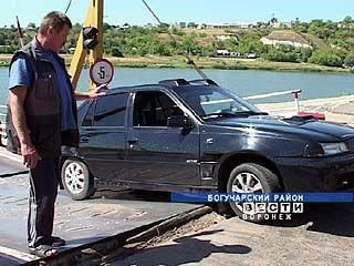 В Богучарском районе понтонному мосту прописали пониженные нагрузки