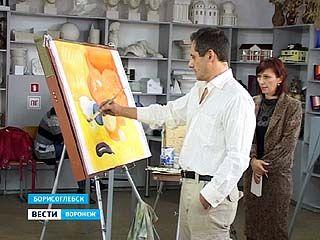 В Борисоглебск на пленэр съехались ведущие живописцы Союза художников России