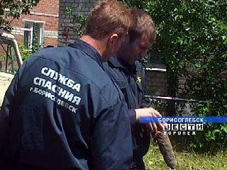 В Борисоглебске несколько дней 45-миллиметровый снаряд лежал на улице