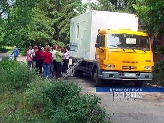 В Борисоглебске появился передвижной флюорографический комплекс