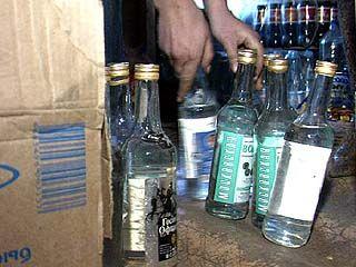"В Борисоглебске продают ""левую водку"" на дому"