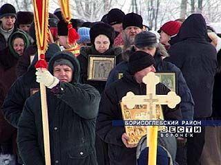 В Борисоглебске прошел крестный ход