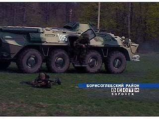 В Борисоглебске прошли тактические учения спецподразделений