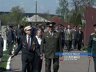 В Борисоглебске в День Победы была отслужена панихида по погибшим советским солдатам
