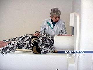 В Борисоглебской ЦРБ появился томограф