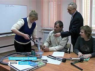 В Бутурлиновском районе открылась школа доярок