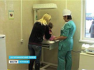 В Бутурлиновском районе открылся новый ФАП