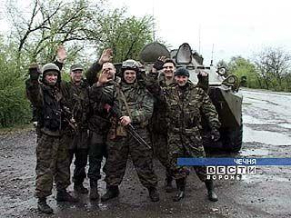 В Чечне выполняет боевые задачи группа ГУВД Воронежской области
