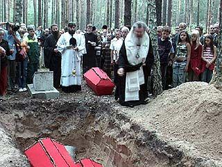 В Дубовке прошло перезахоронение