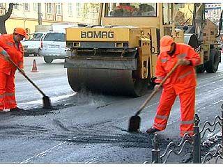 В двух селах Воробьевского района начался ремонт дорог
