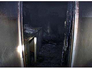 В главном корпусе сельхозакадемии произошел пожар