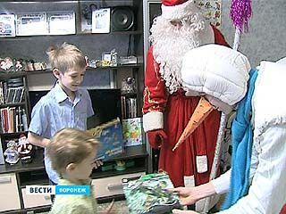 В городке Военнно-воздушной академии свой Дед Мороз