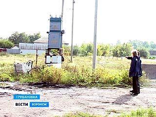 В Грибановке украли трансформаторную подстанцию