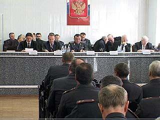 В ГУВД по Воронежской области подвели итоги 2008 года