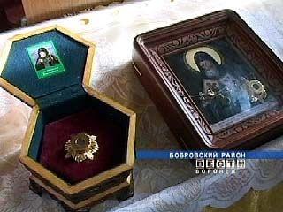 В храме села Хреновое была похищена частица мощей святителя Митрофана
