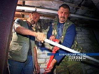 В Хреновом начали капремонт многоквартирных домов