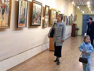 В Художественной галерее открылась выставка работ четы Колесниковых