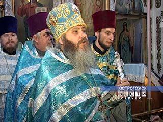 В Ильинском храме Острогожска состоялся молебен