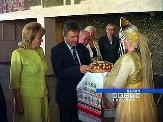 В Калач пожаловали гости из Словении