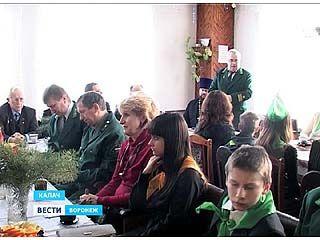 В Калаче лесники-школьники соревновались в своих добрых делах