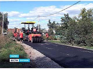 В Калаче отремонтировали более 40 километров дорог