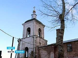 В Калаче восстанавливают символ города - Успенскую церковь