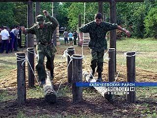 В Калачеевском районе появился военно-спортивный казачий лагерь