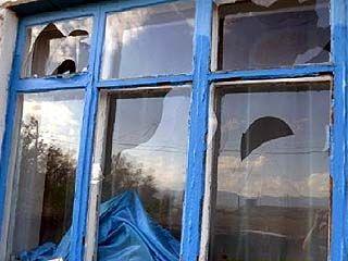 В Кантемировском районе град выбивал стёкла в домах