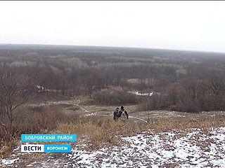 В Коршево появились защитники природы с дубинками и пистолетами