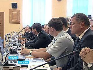 В Лисках прошло выездное заседание правительства