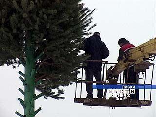В Лисках развеяли слухи о том, что главной рождественской ёлки не будет