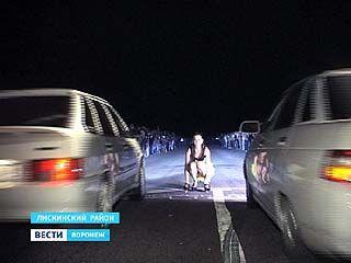 В Лискинском районе встретились любители экстремального отдыха