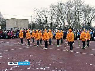 В Масловке состоялось торжественное открытие нового стадиона