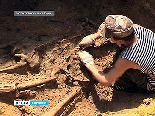 В мемориальной зоне поселка Дубовка завершились поисковые работы