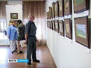 В Музее Крамского представлена экспозиция художника Дмитрия Белюкина