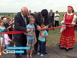 В Нижнедевицком районе теперь все деревни с газом