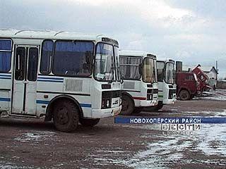 В Новохоперском районе остро стоит проблема автобусного сообщения
