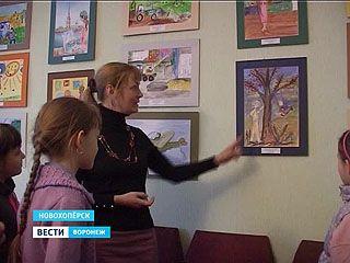 В Новохопёрске стартовала выставка лучших художественных работ