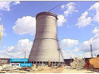 В Нововоронеже завершилось возведение самой высокой постройки в регионе