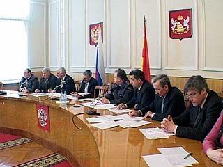 В обладминистрации прошло заседание транспортной комиссии