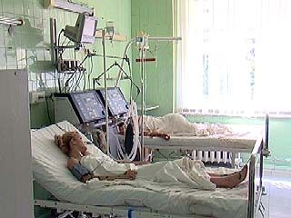 В Областной клинической больнице находятся десять пострадавших