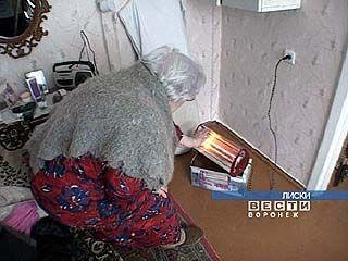 В одном из многоквартирных домов Лисок люди замерзают