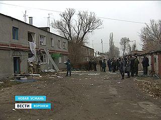 В одном из жилых домов под Воронежем произошёл взрыв газа