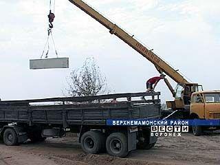 В Ольховатке приступили к восстановлению сгоревших домов