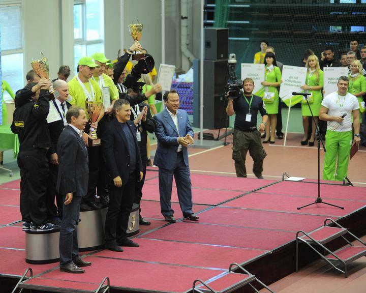 В Орле завершились Всероссийские соревнования служб инкассации и безопасности Сбербанка