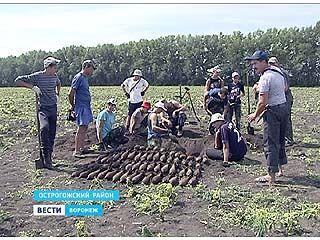 В Острогожском районе собралось около десятка поисковых отрядов со всей страны